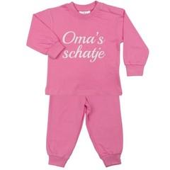 FUN2WEAR meisjes oma's schatje pyjama sachet pink