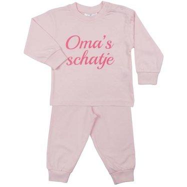 FUN2WEAR Fun2Wear meisjes oma's schatje pyjama barely pink