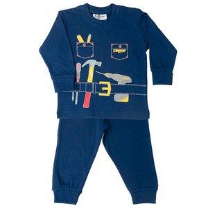 FUN2WEAR jongens handyman pyjama navy