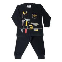 FUN2WEAR jongens handyman pyjama black
