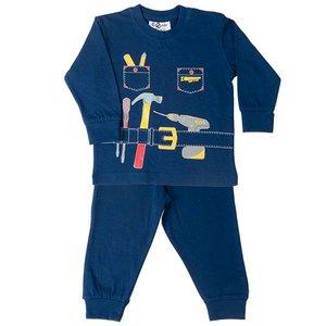 FUN2WEAR Fun2Wear jongens handyman pyjama navy
