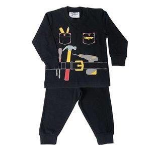 FUN2WEAR Fun2Wear jongens handyman pyjama black