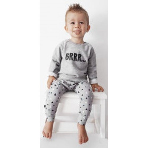 YOUR WISHES Your Wishes unisex baggybroek grey mountains