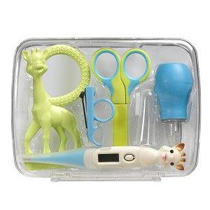 KLEINE GIRAF KLEINE GIRAF sophie de giraf verzorgingskoffer 0m+