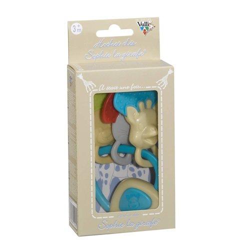 KLEINE GIRAF KLEINE GIRAF sophie de giraf sleutel-rammelaar geschenkdoos 3m+