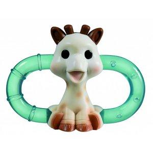 KLEINE GIRAF sophie de giraf dubbele koelbijtring geschenkdoos 3m+
