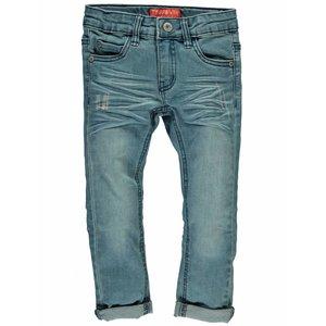 TYGO & VITO jongens stretch skinny jeans large used damaged noos