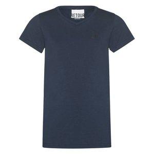 RETOUR DENIM DE LUXE jongens t-shirt dark navy sean nos