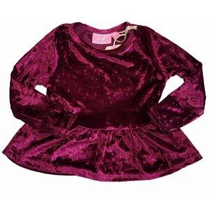 KNOT SO BAD meisjes jurk purple