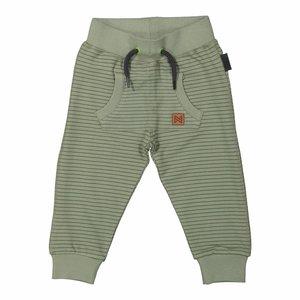 KOKO NOKO jongens joggingbroek army green stripe