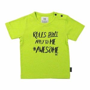 KOKO NOKO jongens t-shirt neon green
