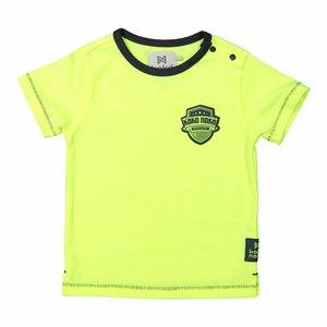 KOKO NOKO jongens t-shirt neon yellow