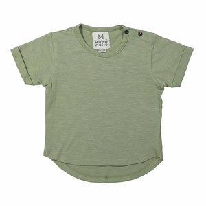 KOKO NOKO jongens t-shirt army green