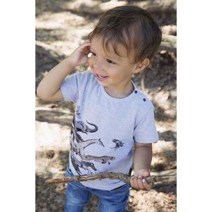 KOKO NOKO jongens t-shirt grey melee