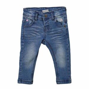 KOKO NOKO meisjes jeans broek blue denim