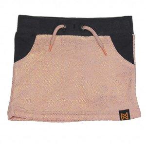 KOKO NOKO meisjes rok light pink melange + dark grey