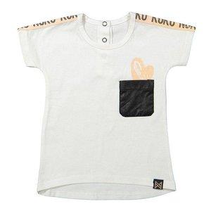KOKO NOKO meisjes t-shirt white