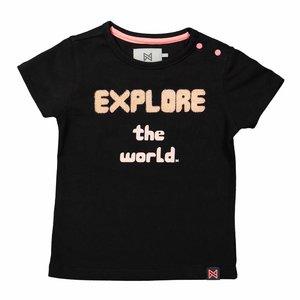 KOKO NOKO meisjes t-shirt black