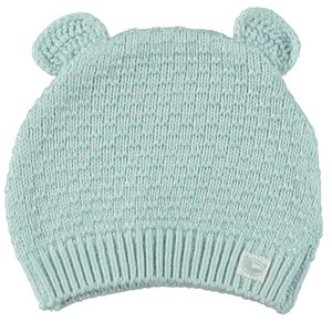 MOODSTREET meisjes knitted muts with ears light blue
