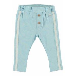 MOODSTREET meisjes broek stripe light blue
