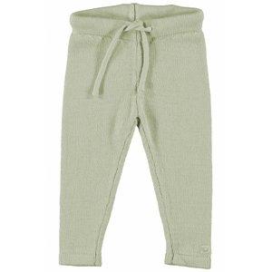 MOODSTREET meisjes knitted broek beige