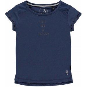 LEVV meisjes t-shirt indigo blue cayenne