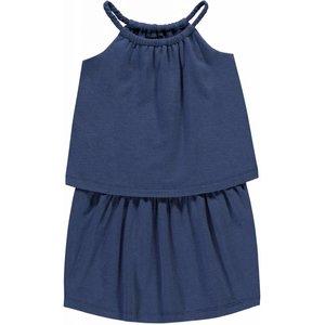LEVV meisjes jurk indigo blue carline