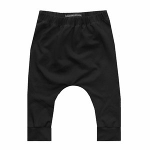 YOUR WISHES unisex baggy broek solid black