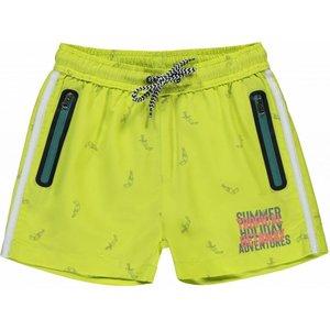 Quapi jongens zwembroek fresh yellow tucan sido