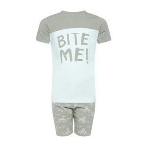 CHARLIE CHOE jongens pyjama set dusty green