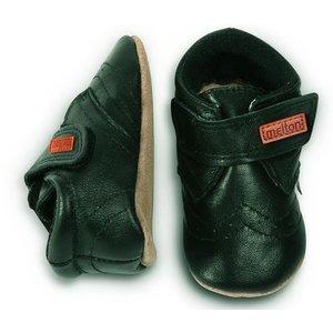 MELTON schoenen black velcro