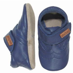 MELTON schoenen navy velcro
