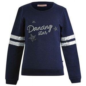 Someone meisjes sweater dark blue ans