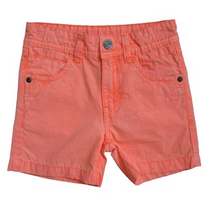 KNOT SO BAD jongens korte broek neon orange/silver