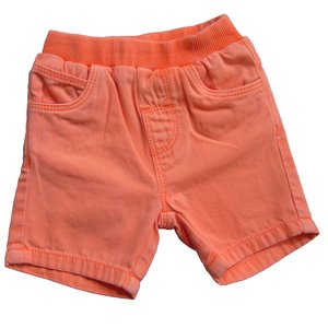 KNOT SO BAD jongens korte broek neon orange