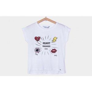 TIFFOSI meisjes t-shirt white gaby