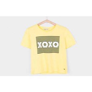TIFFOSI meisjes t-shirt yellow congo