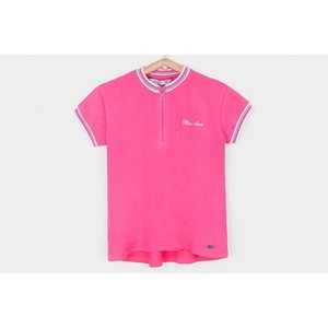 TIFFOSI meisjes polo pink buck