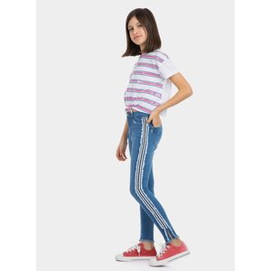TIFFOSI meisjes jeans broek blue emma