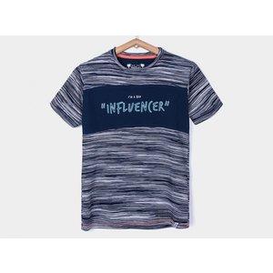 TIFFOSI jongens t-shirt blue bowie