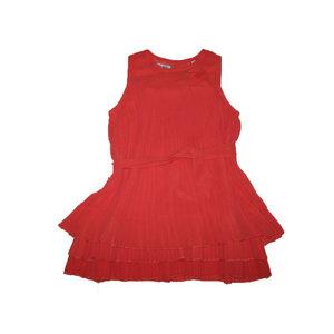 LEMON BERET meisjes jurk flash red