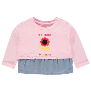 NOPPIES meisjes t-shirt flamingo