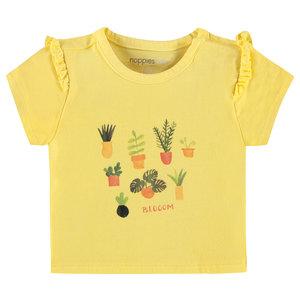 NOPPIES meisjes t-shirt limelight
