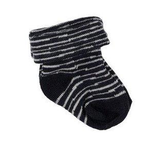 B.E.S.S. jongens 2-pack sokken pinstripe blue nos
