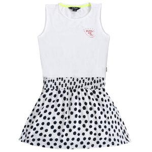 LITTLE MISS JULIETTE meisjes jurk white