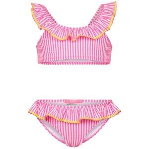 LE BIG meisjes bikini neon pink noelle