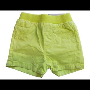 KNOT SO BAD jongens korte broek fluo yellow