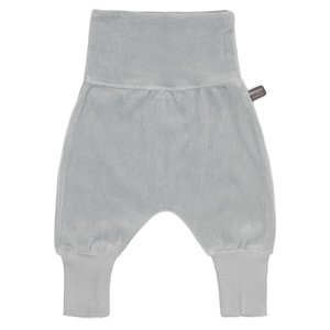 SNOOZEBABY unisex baggy broek grey velours