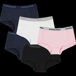 VINGINO Vingino meisjes 5-pack onderbroeken multicolor nos