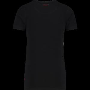 VINGINO Vingino jongens t-shirt black v-neck nos